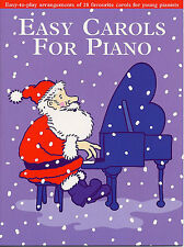Easy Carols For Piano Learn to Play Xmas Songs Beginner Easiest Music Book