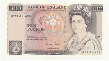 Ten Pound Note £10 G M Gill HY28611495 (1988)