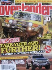 Overlander 4WD Magazine January 2014 - Traction Controls VS Diff Locks
