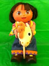 2002 Dora The Explorer COWGIRL Toy Doll (Talks/Sings/Moves) Fisher-Price Mattel