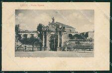 Lecce Città Porta Rusce cartolina XB0512