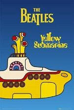 "THE BEATLES LAMINATED POSTER ""Yellow Submarine"" BRAND NEW Licensed Art"