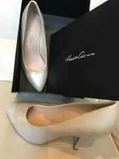 "$99 Kenneth Cole NY Metallic Cream Sz 9 Women's 3"" Inches High Heels Pumps Shoes"