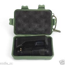 5000LM CREE Q5 linterna flash LED w/ 14500 Batería Súper Brillante Acampada Luz