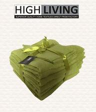 LUXURY 10 PCS TOWEL BALE SET 100% PURE EGYPTIAN COTTON FACE, HAND, BATH TOWELS