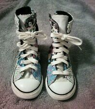 CONVERSE All Star Chuck Taylor Patchwork high top Girls Sneakers Size 1