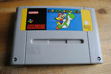 Jeu SUPER MARIO WORLD pour Super Nintendo SNES version PAL