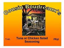 3 Pks Cousin Boudreaux Tuna or Chicken Salad Mix- No MSG Ebay - Free Shipping