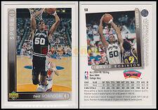 NBA UPPER DECK 1993/94 - David Robinson # 50 - Spurs - Ita/Eng - MINT
