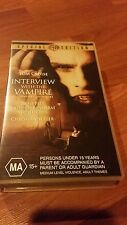 INTERVIEW WITH THE VAMPIRE - TOM CRUISE -  VHS VIDEO