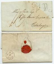 GB 1829 COLLIERS WOOD to SCOTLAND...BOYD MILLER SEAL TOOTING BOXED + HANDSTAMP 2