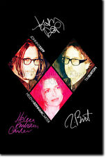 JOHNNY DEPP TIM BURTON HELENA BONHAM CARTER PHOTO PRINT POSTER