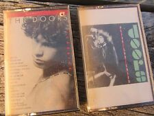 2 LOT Cassette Tape THE DOORS Alive She Cried & Classics