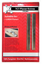 LUREM CARBIDE Planer Blades 210mm to suit LUREM machine  210202.5TCT
