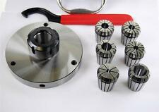 ER32 Collet Set with 125 MM Diameter Chuck For Lathe  From Chronos