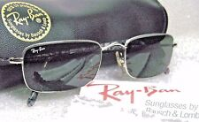 "VINTAGE *NOS RAY-BAN B&L ""Slim Line"" W2653 SilverMarble & Chrome *NEW SUNGLASSES"