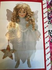 house of lloyd christmas around the world adorable Marisa Porcelain doll