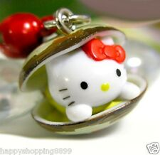 Multi-Color Unbranded Universal Hello Kitty Phone Charm w Strap&Bell HK034 -2CM
