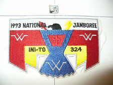 OA Ini-To Lodge 324,S-28,1993 BSA Nat'l Jamboree Flap,Flint River Cnl,Griffin,GA