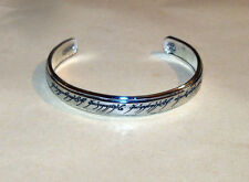 Lord of the Rings The Elvish Script Bracelet Sterling Silver .925