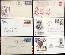 United States Generals Collection Autographs World War II Prominent Commanders