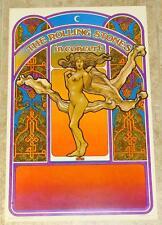 ORIGINAL 1969 ROLLING STONES - LET IT BLEED - CONCERT TOUR POSTER - BYRD ART