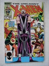 X-MEN UNCANNY #200 MARVEL TRIAL OF MAGNETO SCARCE DECEMBER 1985