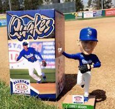 Corey Seager ~ NEW 2016 ~ RANCHO QUAKES / LA Dodgers Shortstop Bobblehead SGA