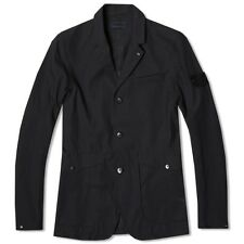 Stone Island 3L Performance Cotton Ghost Blazer Jacket In Navy BNWT