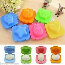 6 Pcs/Set Cartoon Eggs Mold Mould Pan Cooking Tools Kitchen Accessories