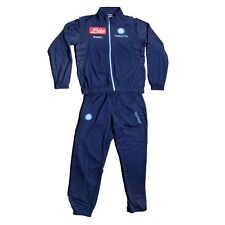 FW13 SSC NAPOLI 14 ANNI TUTA BAMBINO JUNIOR TRACKSUIT SURVETEMENT SUDADORA BN