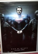 Cinema Poster: MAN OF STEEL 2013 (Handcuff One Sheet) Henry Cavill Russell Crowe
