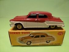 DINKY TOYS 172 STUDEBAKER LAND CRUISER - CREAM + RED - EXCELLENT IN BOX