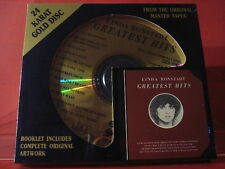 "DCC GZS-1040 LINDA RONSTADT "" GREATEST HITS "" (24 KT GOLD COMPACT DISC/SEALED)"