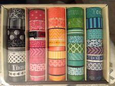 Recollections BIG Box of ASSORTED PLANNER WASHI TAPE 45 Rolls!!Real Nice Combos