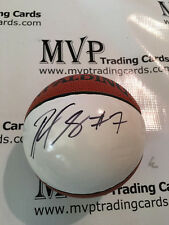RAMON SESSIONS Authentic Autograph Spalding NBA White Panel Basketball PSA/DNA