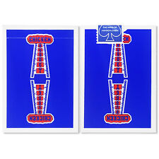 Chicken Nugget Playing Cards (BLUE) Limited Edition Deck by Hanson Chien