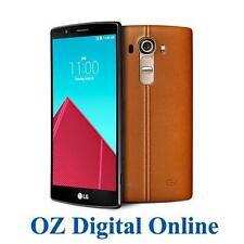 NEW LG G4 Dual Sim 32GB 4G LTE 16MP 5.5' Leather Brown Factory Unlocked phone