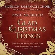 Glad Christmas Tidings by Mormon Tabernacle Choir, David Archuleta