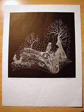 Lithographie XX° NOVEMBRE, EA 12/12 signée Philippe Vacherot, D - 65 x 50 cm