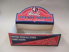 Display box, advertising, Beal's Hand Soap, Spotswood, vintage, rare
