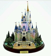 Disney Main Street USA Cinderella Castle Miniature by Olszewski, Brand New