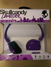 Skullcandy Lowrider New 2014 On-Ear Headphones with Mic - Athletic Purple