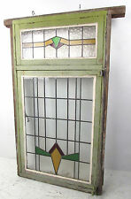 Large Vintage Stained Glass Window (2940)NJ