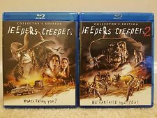 JEEPERS CREEPERS 1 + 2 Blu-ray's SCREAM FACTORY MINT FREE SHIPPING!!!