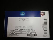 Il Divo Used Concert Ticket - O2 Arena London May 2016