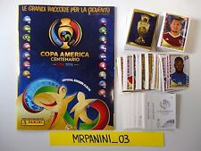 COPA AMERICA CENTENARIO USA 2016 Panini ALBUM+Set Completo 452 Figurine-stickers