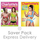 Charlotte Crosby's 3 Minute Belly Blitz & Bum Blitz - Dual Pack - Fitness DVD