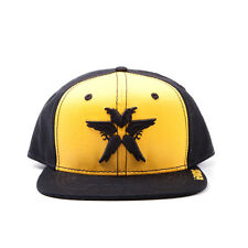 AWESOME INFAMOUS SECOND SON CROW / STAR YELLOW SNAPBACK CAP HAT *BRAND NEW*