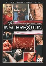 Insurrextion 2003 DVD *WWE *Raw invaded Newcastle, England *WRESTLING *Brand New